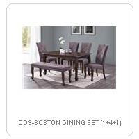 COS-BOSTON DINING SET (1+4+1)